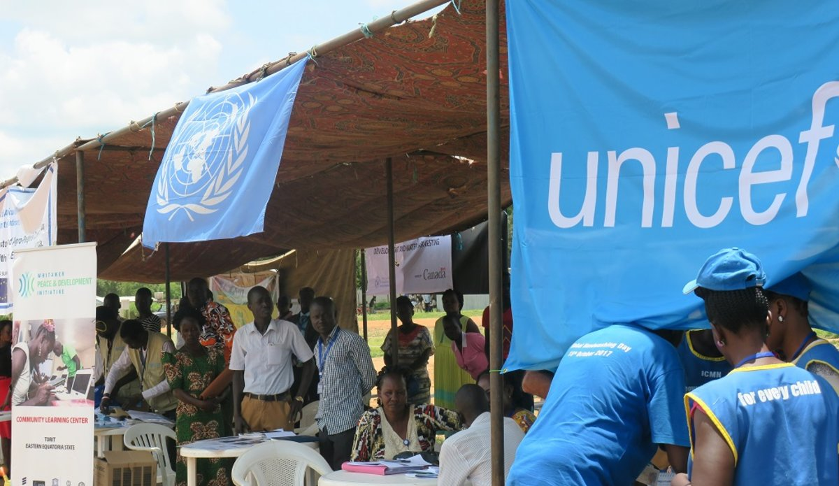 unmiss south sudan torit job fair unicef undp resilience programme