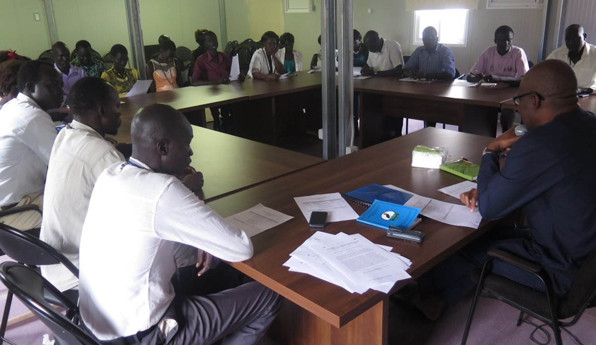 Journalists in Rumbek decry restrictions on freedom of expression UNMISS South Sudan human rights