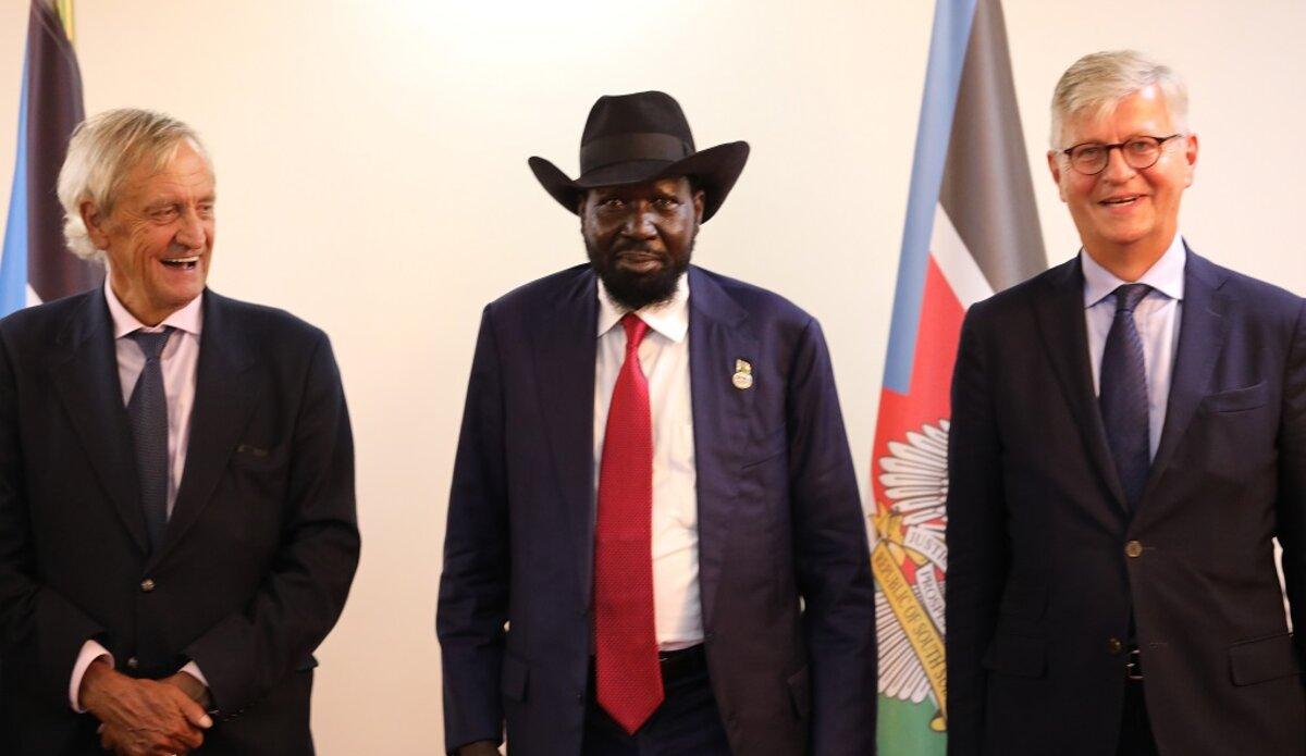 unmiss south sudan usg jean-pierre lacroix nicholas haysom salva kiir president security arrangements sector reform unified forces peace process