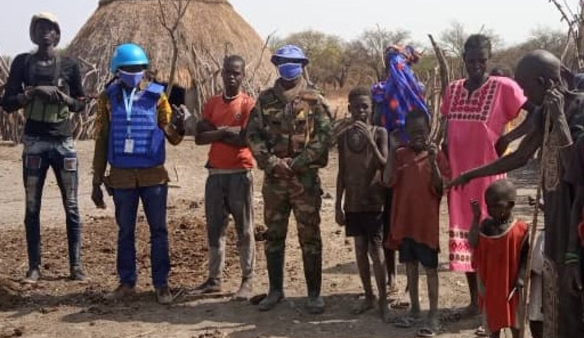 UNMISS protection of civilians protection Koch temporary operating base peacekeepers South Sudan peacekeeping armed clashes