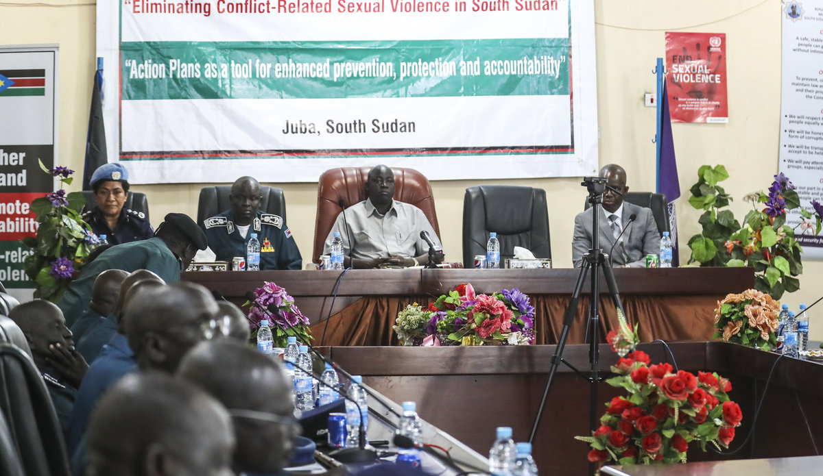 unmiss unpol senior women protection adviser south sudan ssnps action plan crsv sexual violence