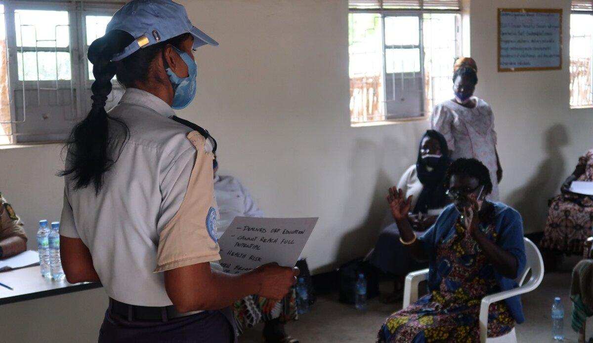 unmiss south sudan eastern equatoria state torit unpol rwanda child marriages campaign girls education