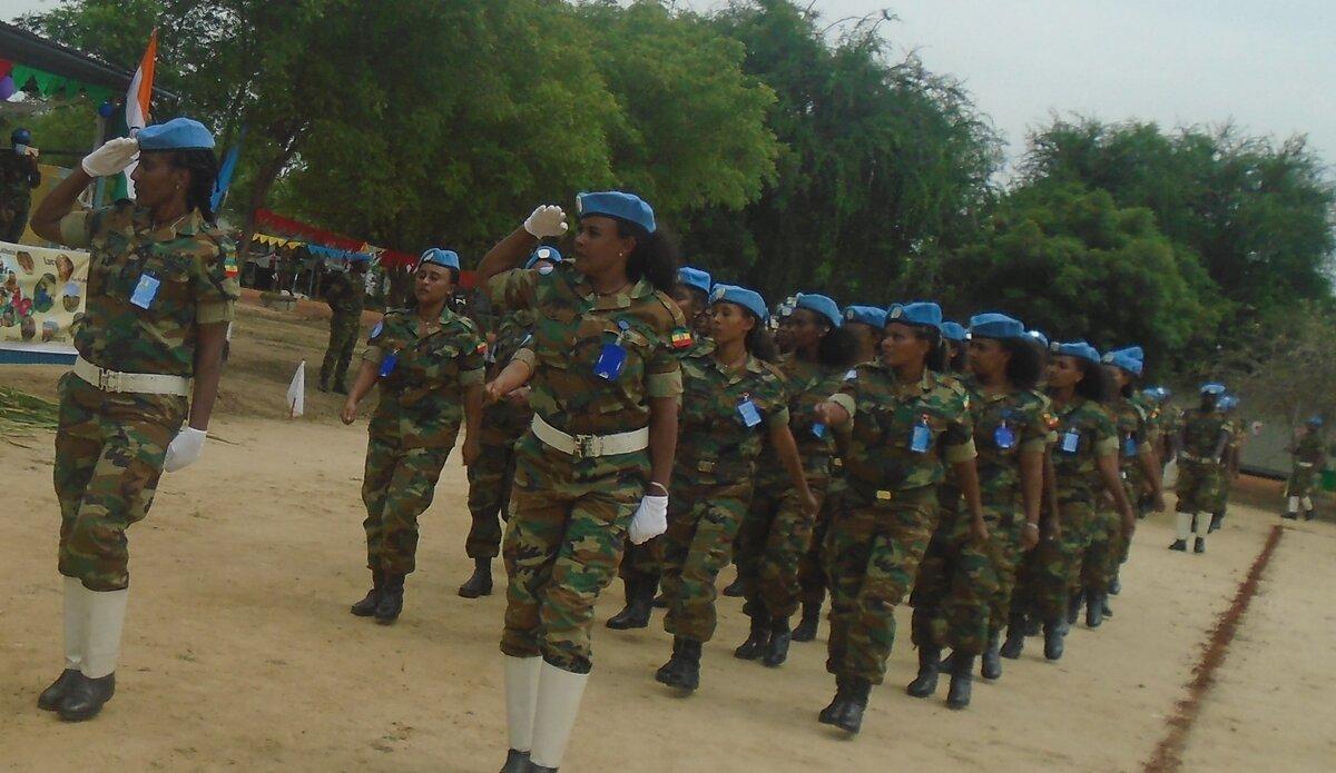 UNMISS protection of civilians Ethiopia peacekeepers South Sudan peacekeeping Jonglei medal parade United Nations medal
