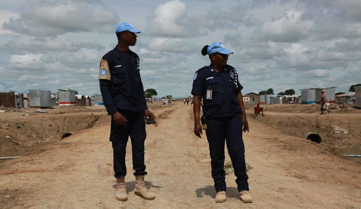 Making her Mark: Female Ghanaian Peacekeeper at the Helm of Formed Police Unit