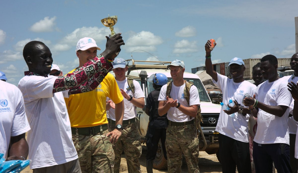 "Malakal Protection of Civilians Site Hosts First Ever ""Treasure Hunt"""