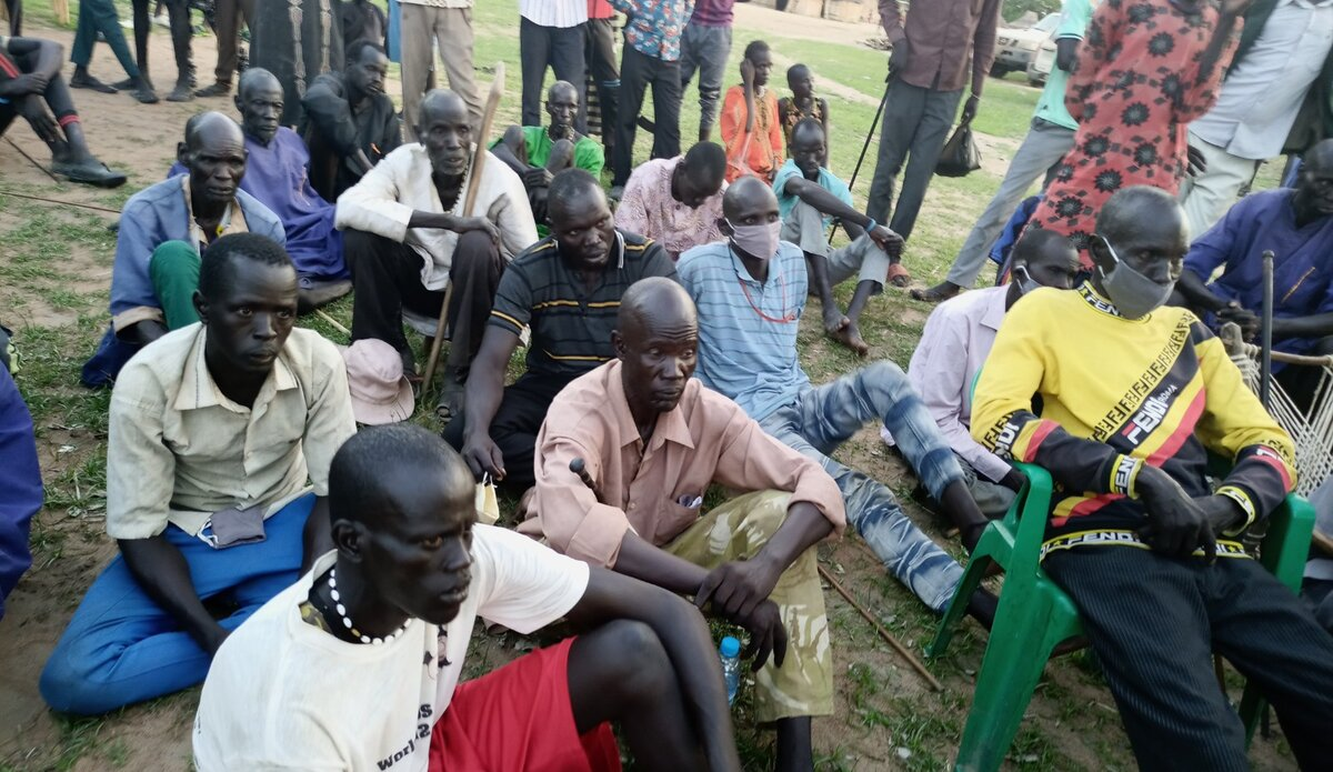 UNMISS protection of civilians durable peace youth leaders cattle rustling reconciliation Warrap displaced civilians peacekeepers South Sudan peacekeeping cattle raids