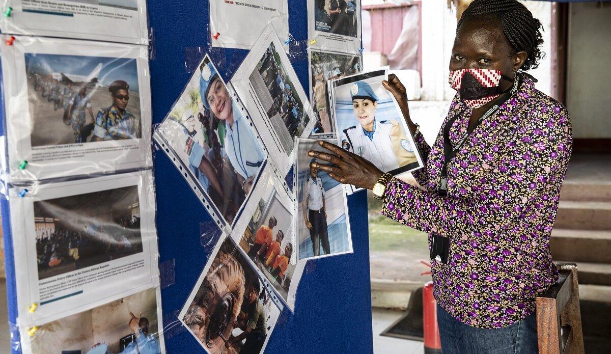 UNMISS gender affairs gender equality peacekeepers South Sudan peacekeeping UNSCR 1325