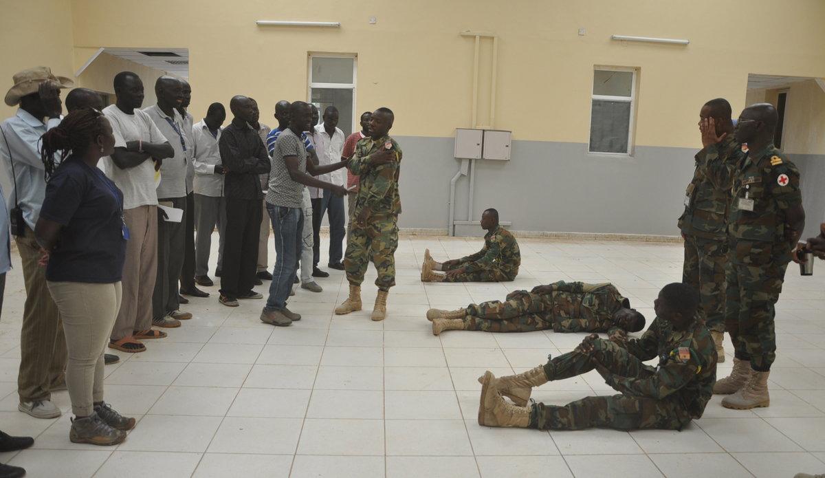 Ghana South Sudan UNMISS peacekeepers Bentiu workshop training health humanitarian