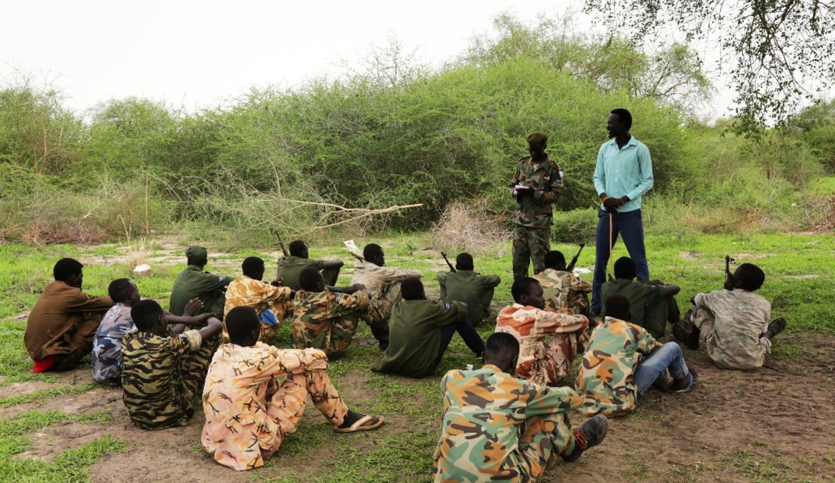 south sudan unmiss spla child soldiers list of shame delisting unicef child protection unit child-free army 29 June 2018