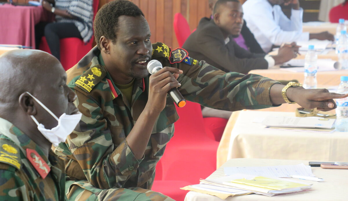 UNMISS protection of civilians child protection armed conflict child soldiers peacekeepers South Sudan peacekeeping Juba