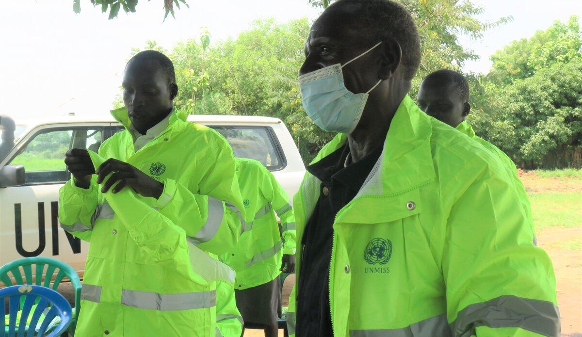 UNMISS UNPOL community policing rain South Sudan eastern equatoria torit