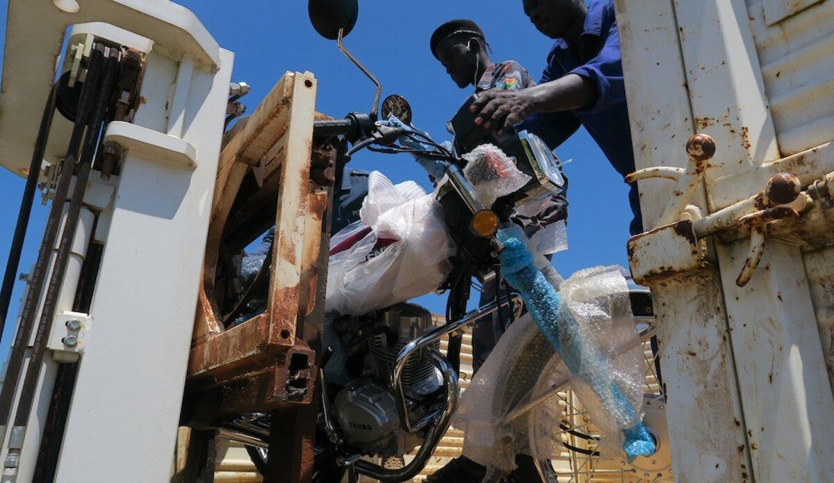 unmiss south sudan jonglei pibor akobo bor police motorbikes donation south korea prevention protection of civilians