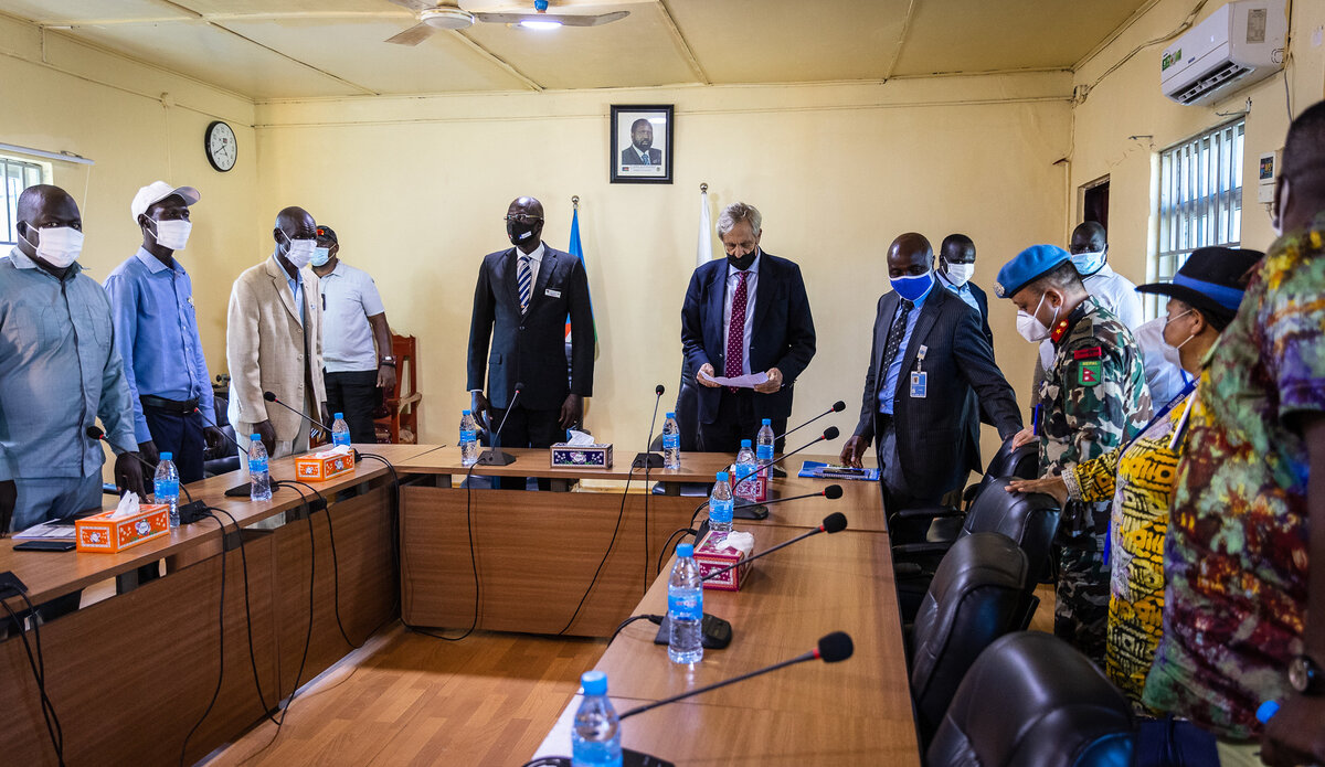 Joint statement by AUMISS, IGAD, R-JMEC, ADC, and UNMISS on the situation in Pibor