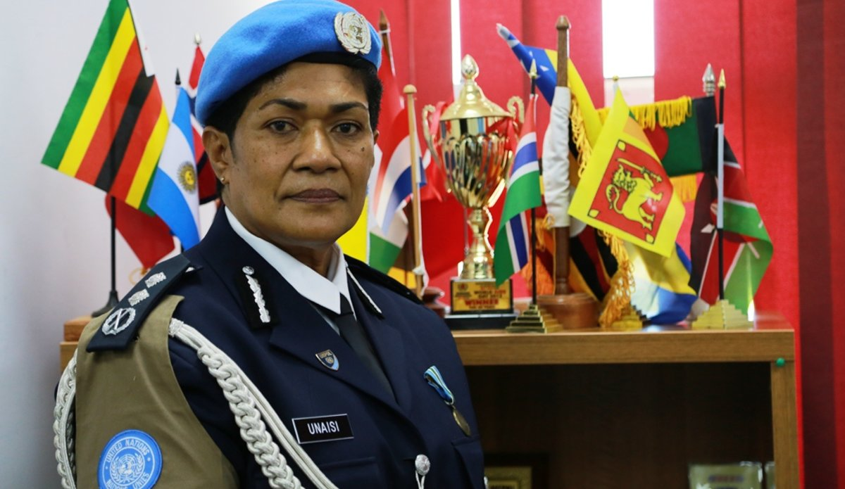 unmiss south sudan first ever female police commissioner protection of civilians urges more female police officers to work for the un