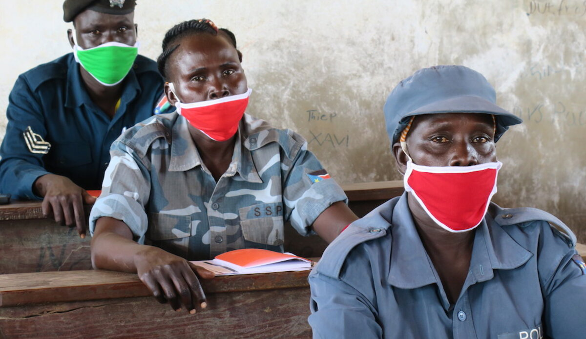 unmiss unpol aweil ssnps training ethics crime prevention investigation