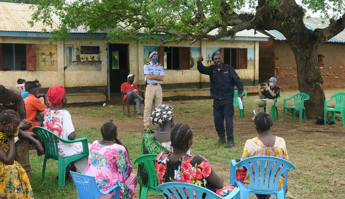 UNMISS protection of civilians UNPOL community policing law and order child abductions torit eastern equatoria