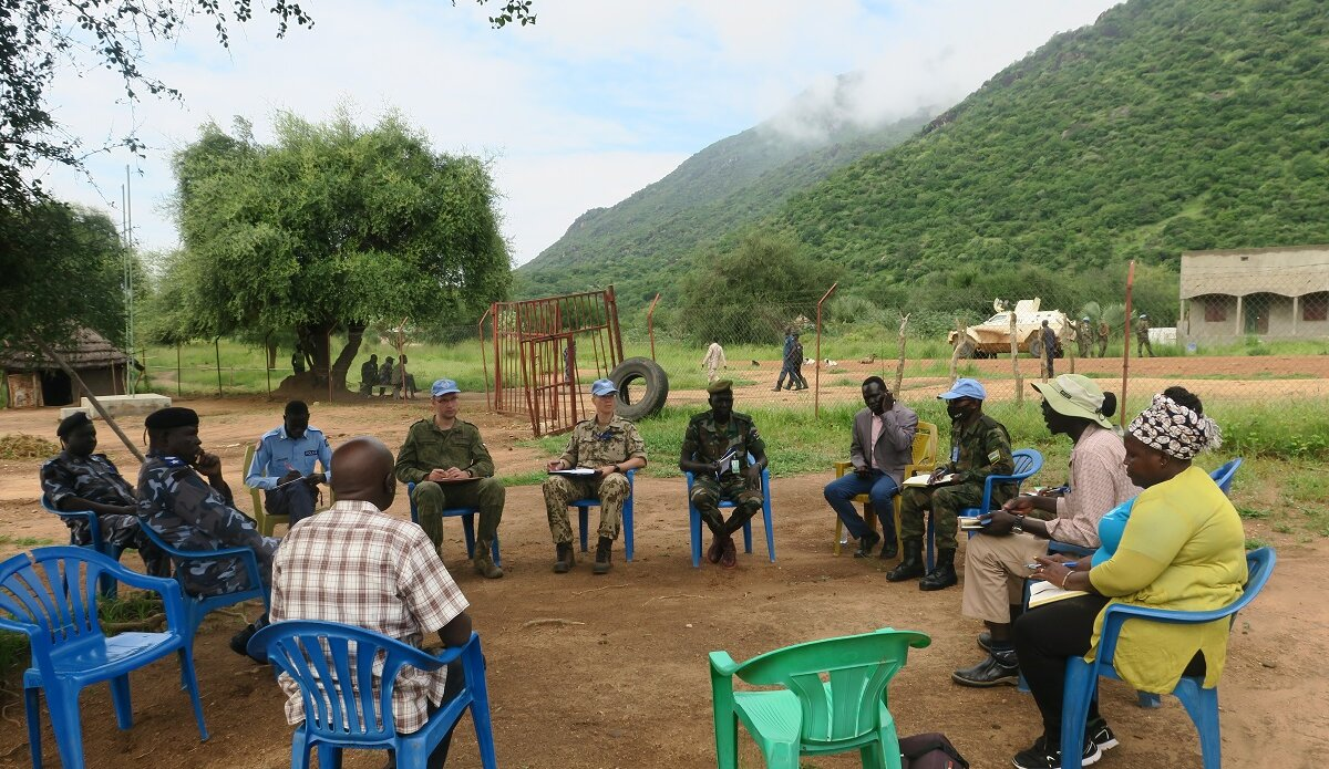 UNMISS protection of civilians intercommunal conflict displaced civilians peacekeepers South Sudan peacekeeping United Nations UN Peacekeeping patrols Eastern Equatoria cattle raids revenge attacks