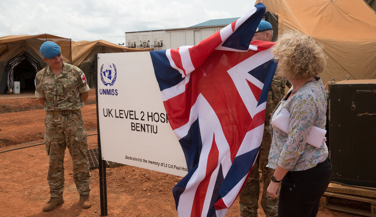 Opening of new Level II hospital gives confidence to UNMISS staff