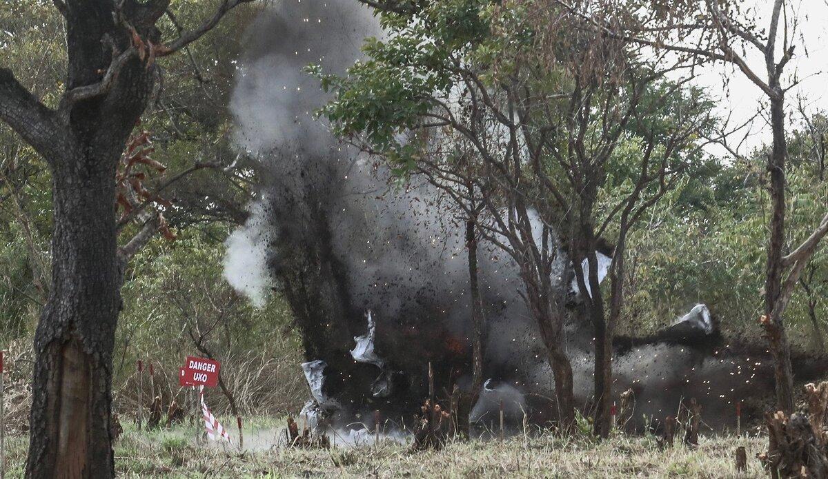unmiss unmas un mine action service south sudan eastern equatoria demining kaboom japan protection of civilians humanitarian access education
