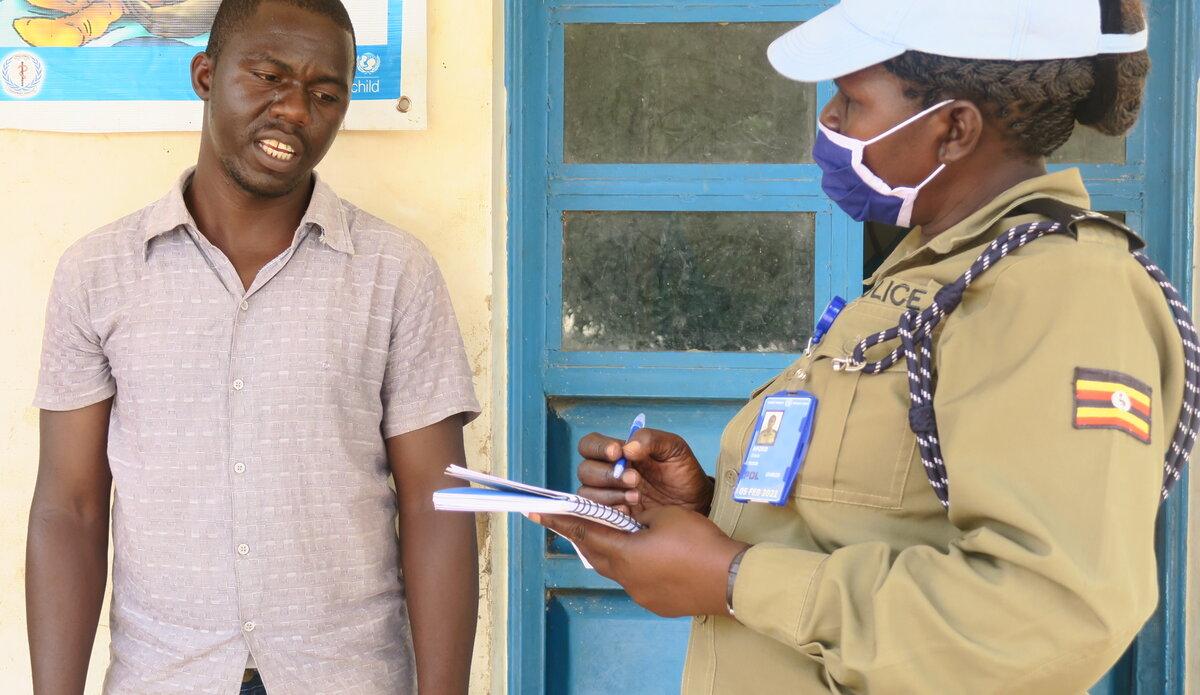 UNMISS South Sudan Peacekeepers Yambio Village COVID-19 Coronavirus Peacekeeping USAID