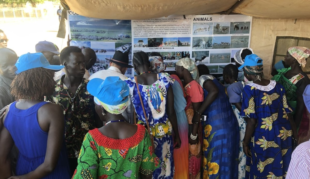 unmiss south sudan international women's day pariang unity ruweng female peacekeepers inspiration participation representation peace building