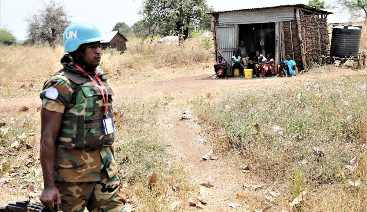 unmiss south sudan kediba western equatoria state dynamic air patrol humanitarian needs security situation idps returnees