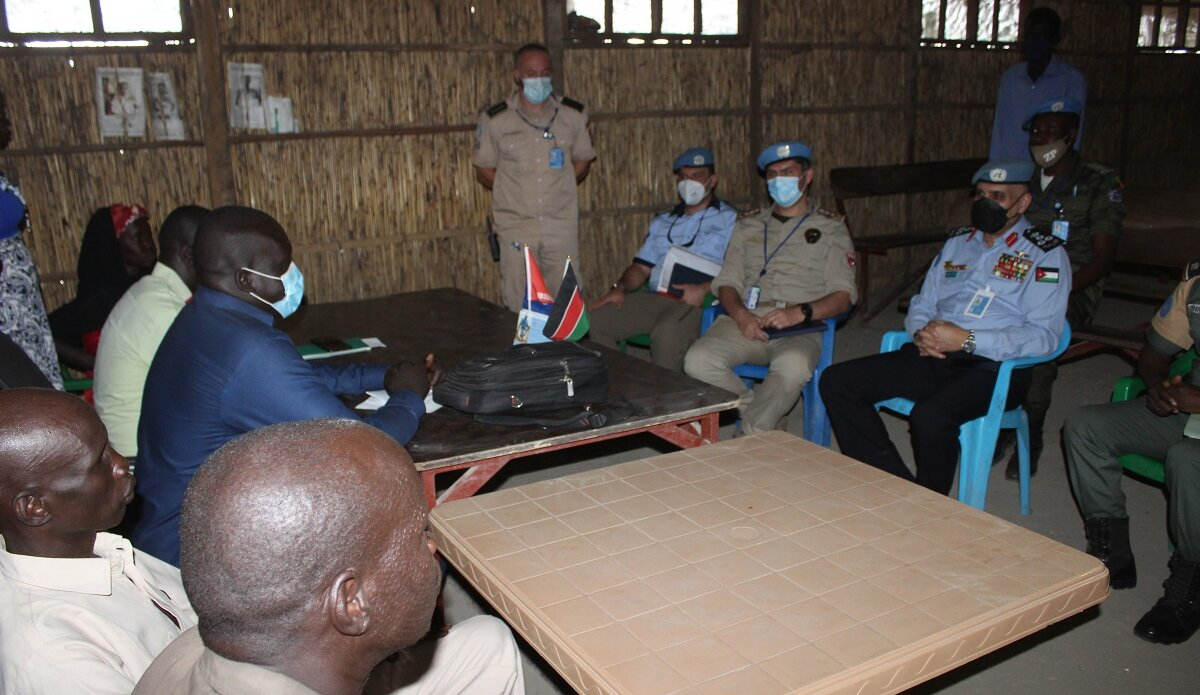 UNMISS protection of civilians Bentiu displaced civilians peacekeepers South Sudan peacekeeping UNPOL