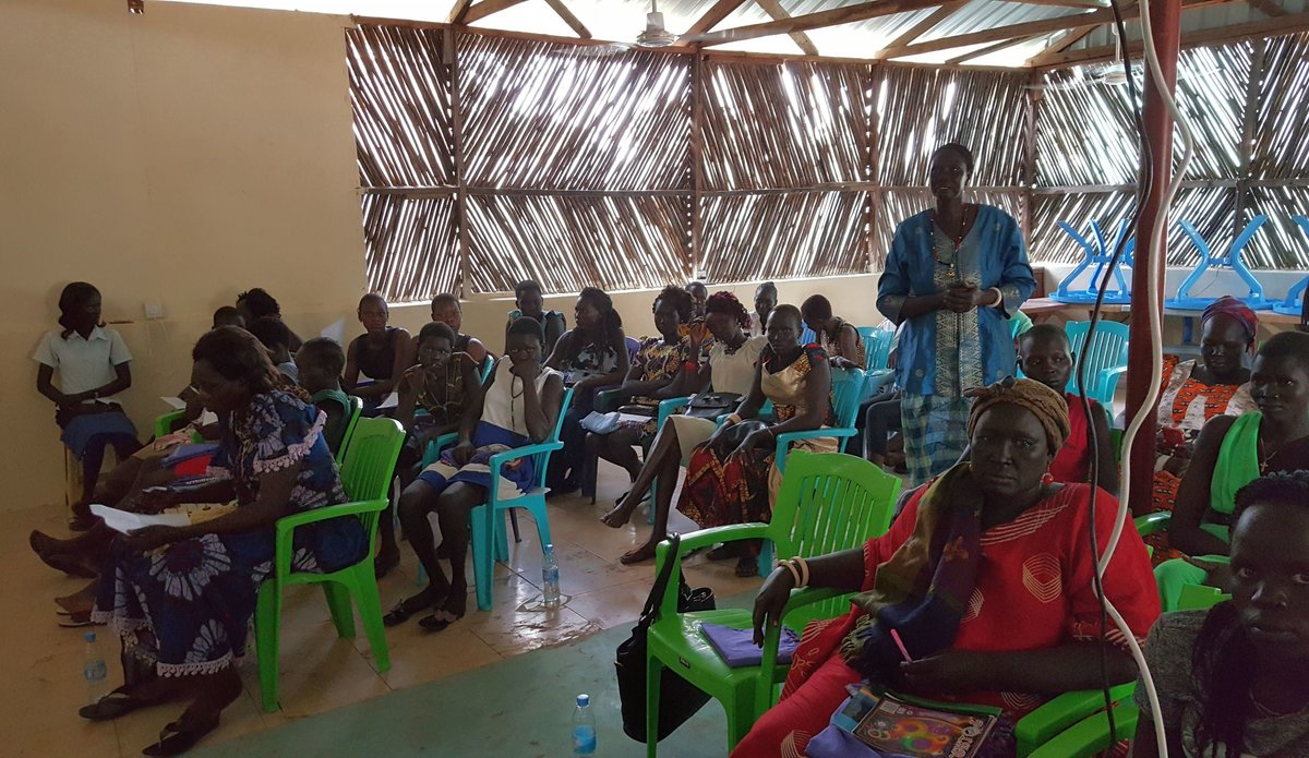 Rumbek Women Rally against Sexual & Gender-Based Violence at Workshop