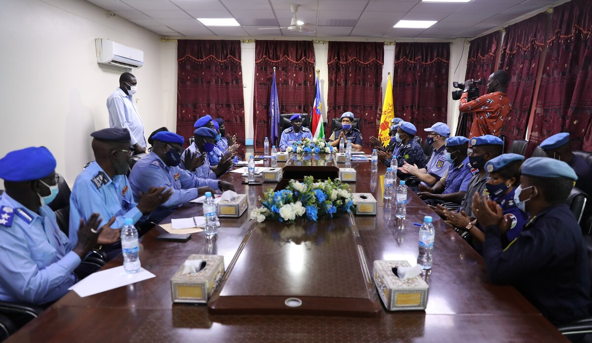 UNMISS protection of civilians protection displaced people peacekeepers South Sudan peacekeeping UNPOL