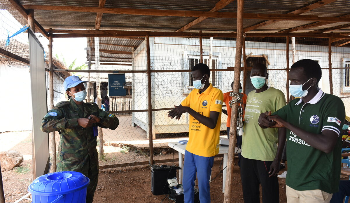 UNMISS protection of civilians female peacekeepers women South Sudan peacekeeping International Women's Day