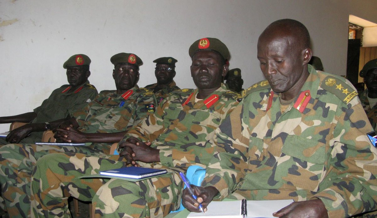 Senior South Sudanese army officers urged by the United Nations to respect the rights of children