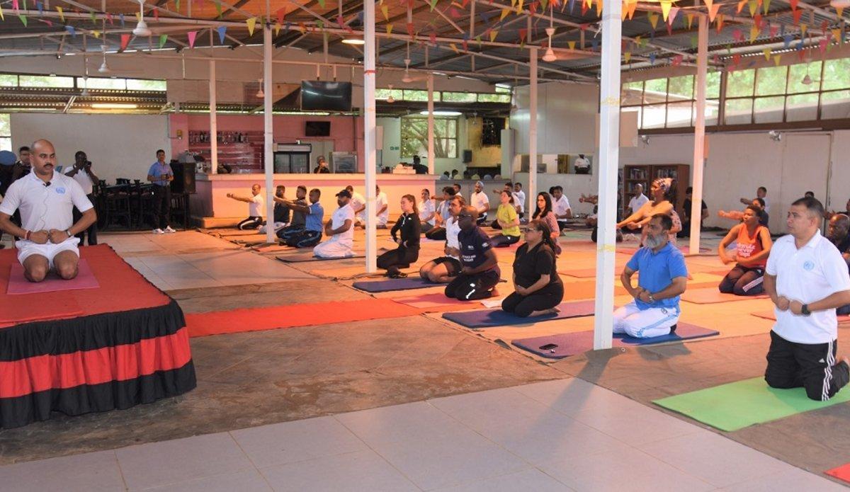 unmiss south sudan malakal yoga peace movement international national civilian uniformed staff