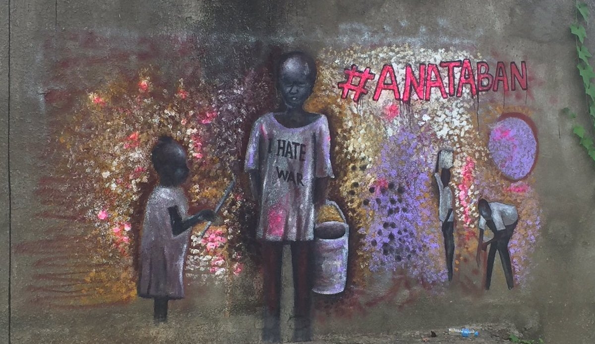 South Sudanese artists use Street Art to promote peace