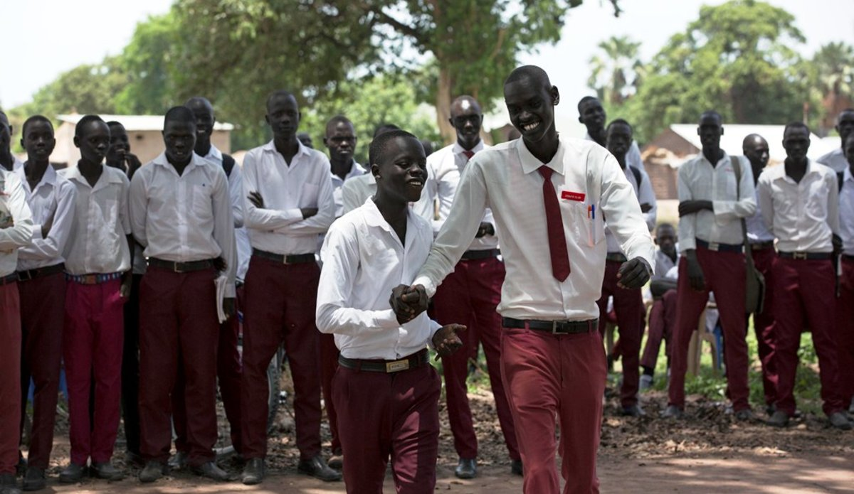 unmiss south sudan peace and human rights clubs rumbek western lakes secondary school reconciliation communities ethnic groups