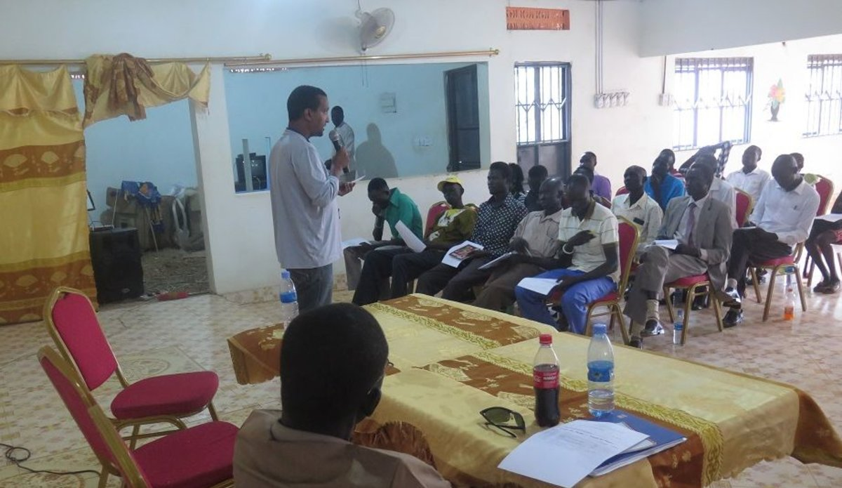 Young South Sudanese urged to share messages of peace not war