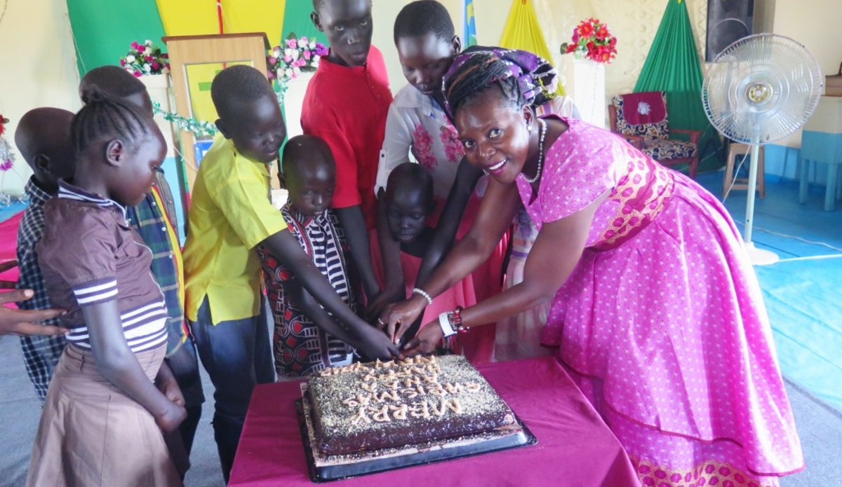 unmiss south sudan torit december 2018 christmas orphanages volunteering donations