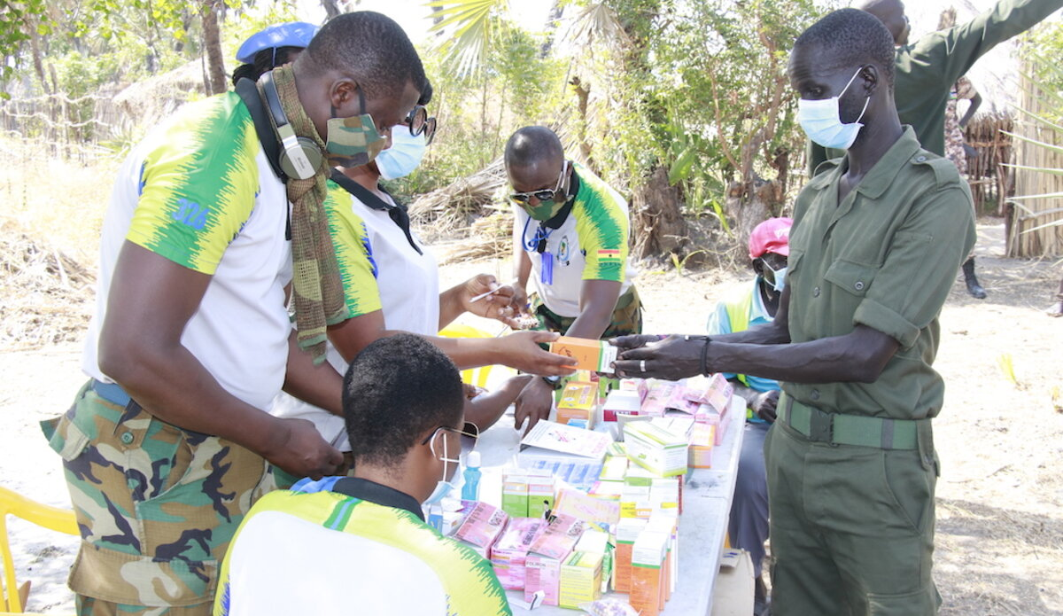 unmiss south sudan moum unity state ghana medical services civilians military