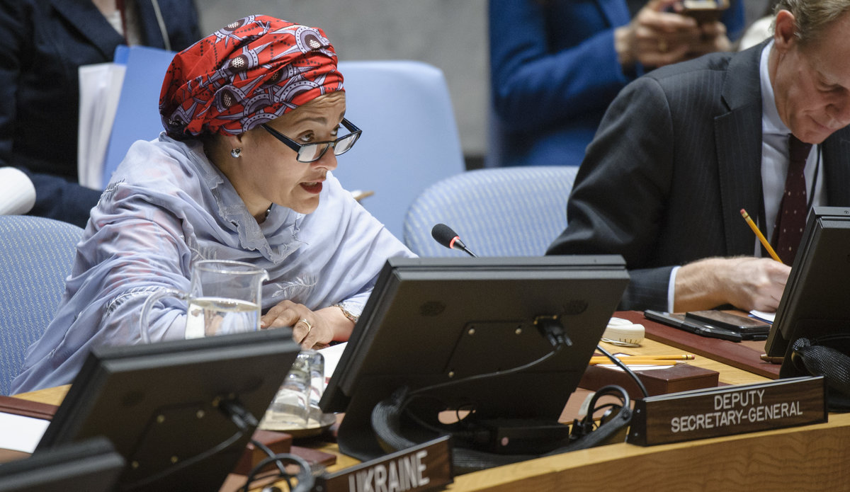 STATEMENT OF THE DEPUTY SECRETARY-GENERAL SECURITY COUNCIL OPEN DEBATE ON SEXUAL VIOLENCE  IN CONFLICT