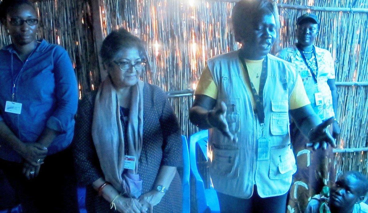 UN Human Rights Experts visit Bentiu and Malakal