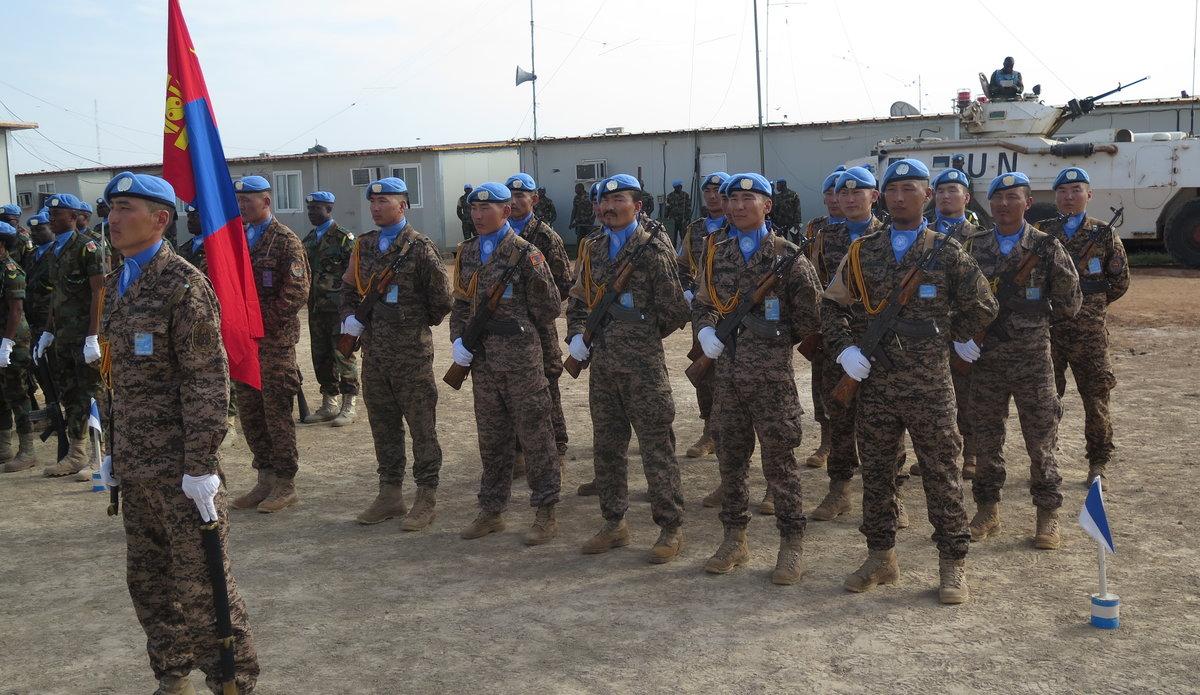 UN Personnel in Bentiu celebrate United Nations Day