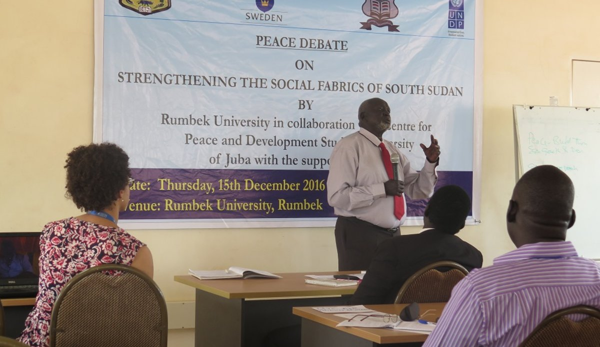 University of rumbek organizes a debate on strengthening social university of rumbek organizes a debate on strengthening social fabrics amongst south sudanese publicscrutiny Image collections
