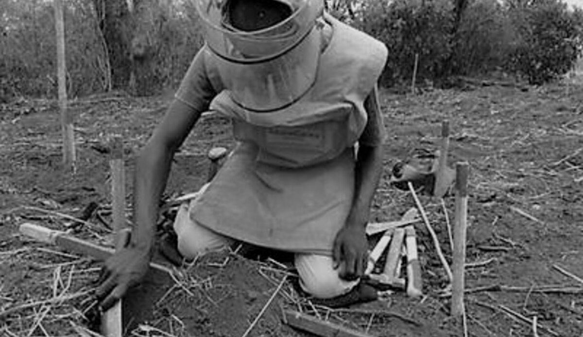 mine action UNMAS ERW South Sudan UNMISS