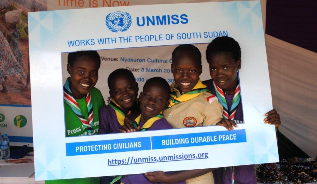 unmiss essay competition nationwide how can women contribute to durable peace in South Sudan