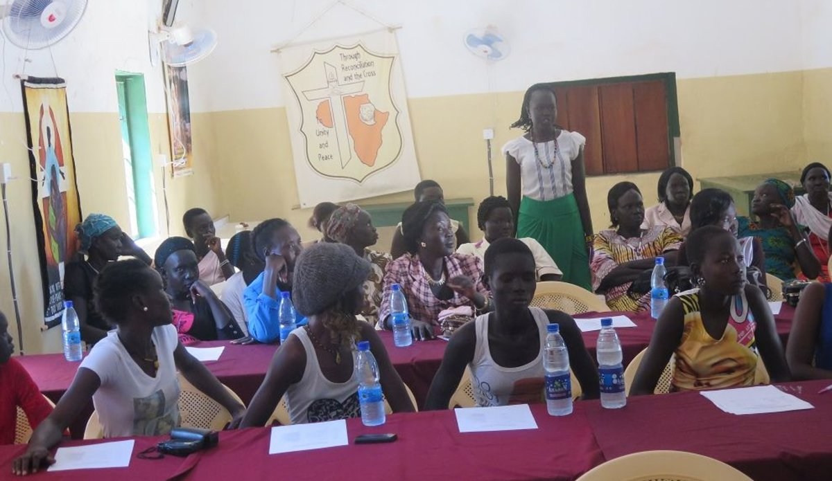 UNMISS in Rumbek organizes advocacy meeting on child marriages