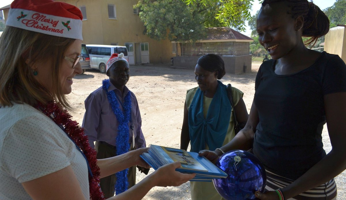 UNMISS partnering for a peaceful New Year