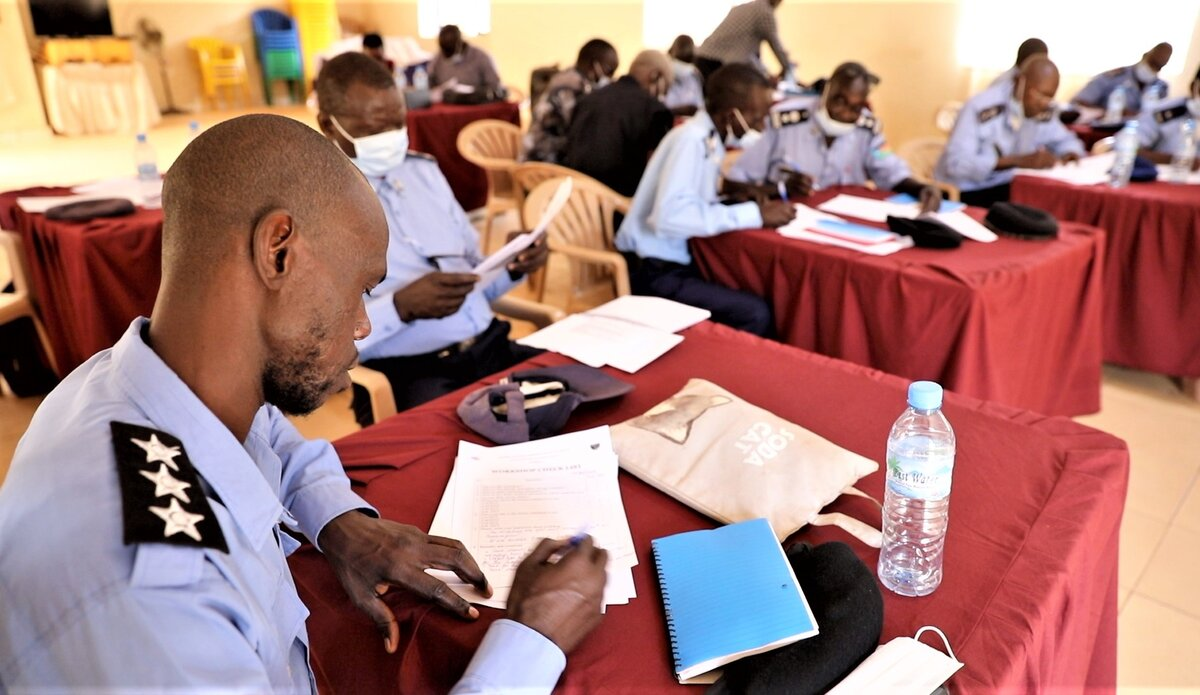 UNMISS UNPOL protection peacekeepers South Sudan peacekeeping Rule of Law SGBV Western Equatoria Training Capacity Building