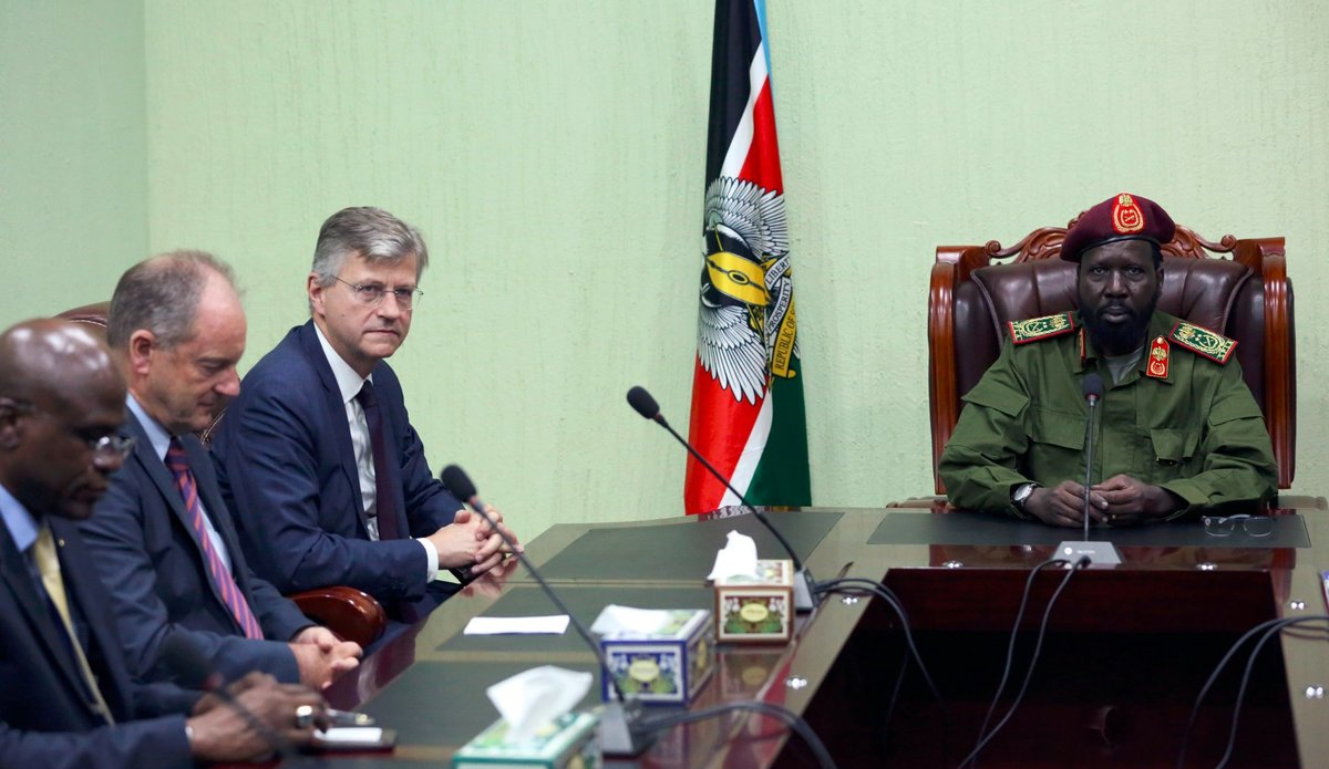"""Engagement of regional countries """"good thing"""" for South Sudan peace process"""