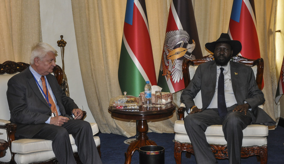 UN Peacekeeping chief meets president Kiir: Solution to South Sudan's problems has to be political
