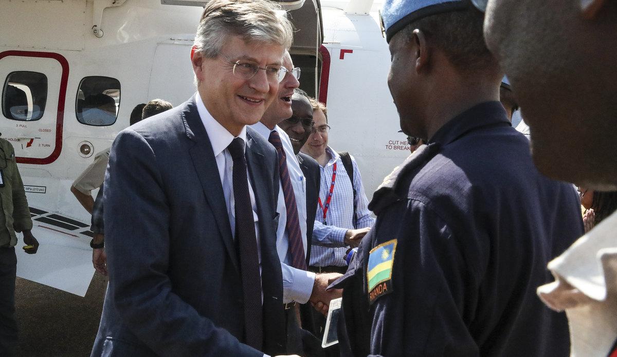 Peacekeeping Chief Visits Malakal