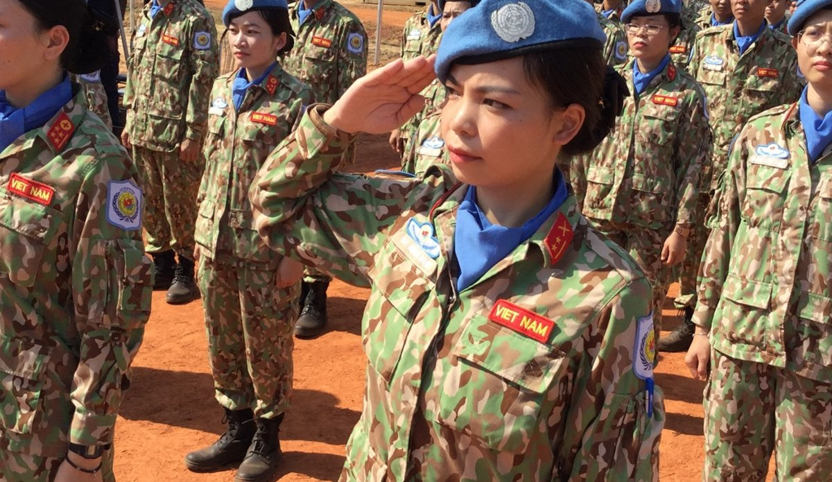 unmiss south sudan medals vietnam medical staff history first bentiu